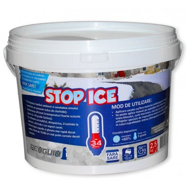 Penguin Stop-Ice (biodegradabil) impotriva ghetii si zapezi (2.5 kg)